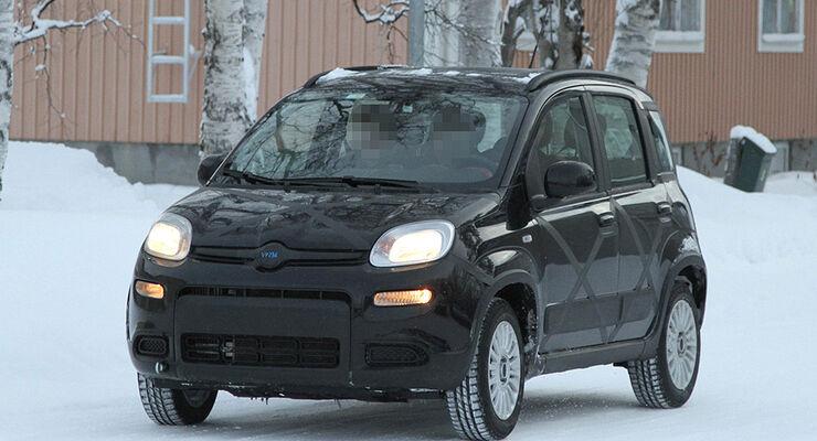 Erlkönig Fiat Panda 4x4