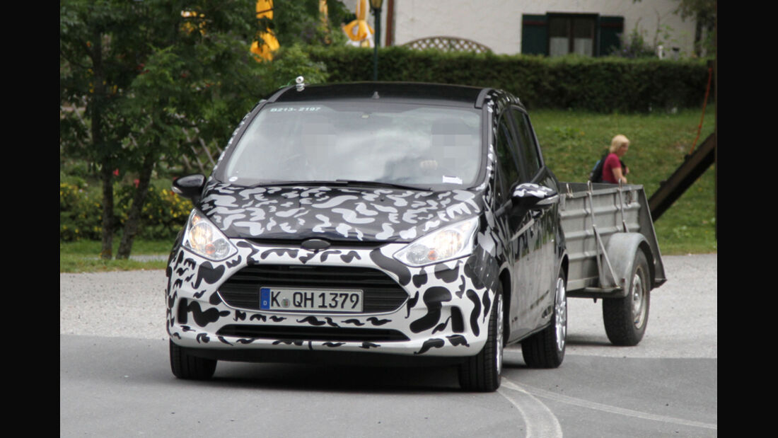 Erlkönig Ford B-Max