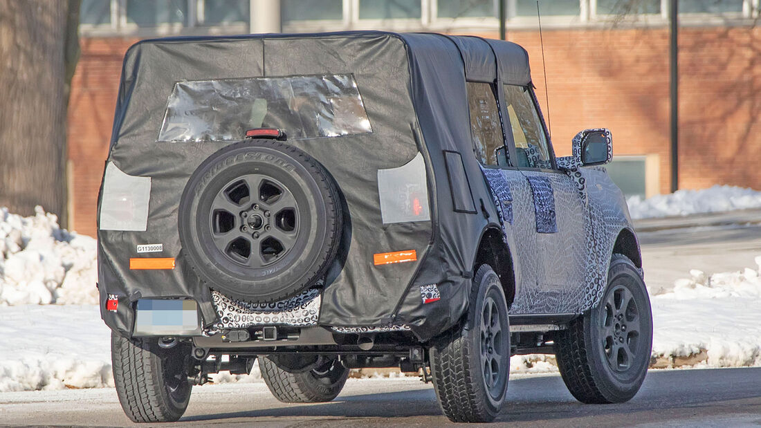 Erlkönig Ford Bronco