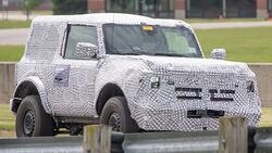 Erlkönig Ford Bronco 2-Türer