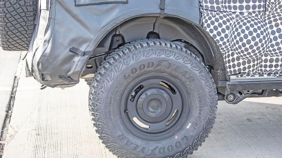 Erlkönig Ford Bronco Heritage Edition