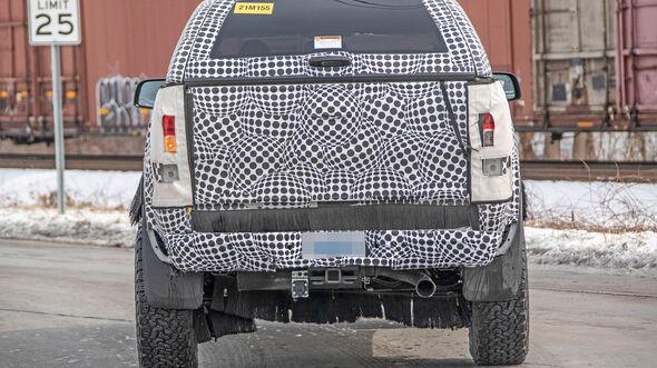 Erlkönig Ford Courier Pickup