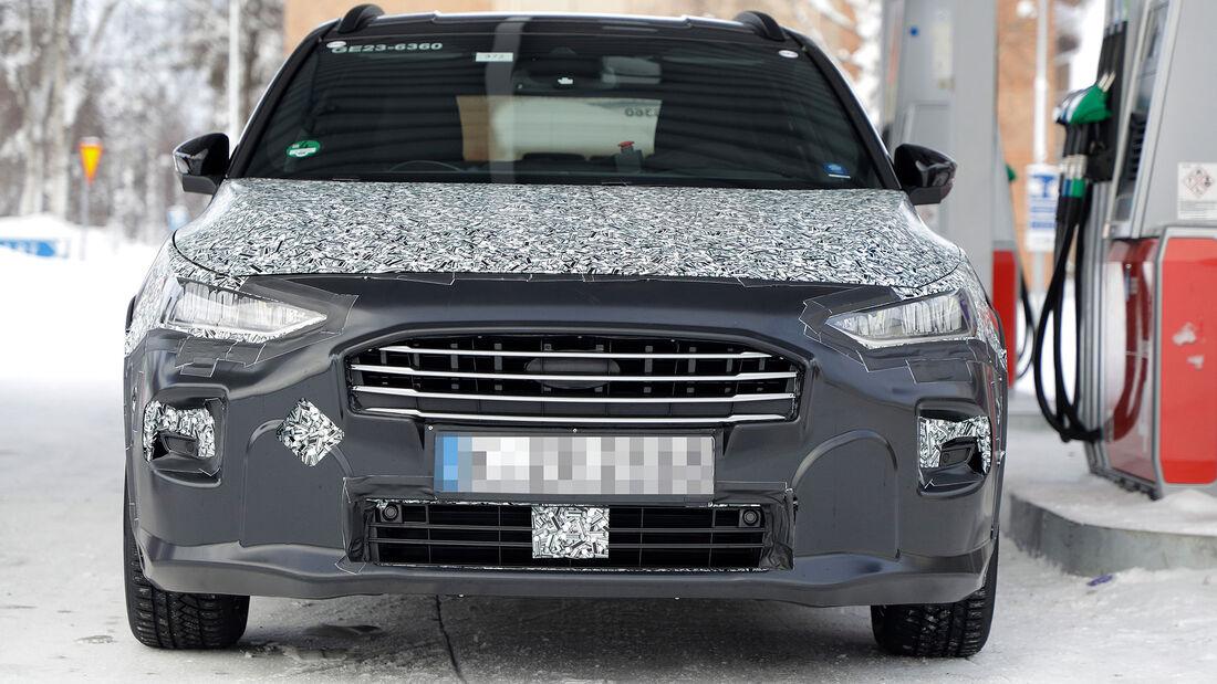 Erlkönig Ford Focus Facelift