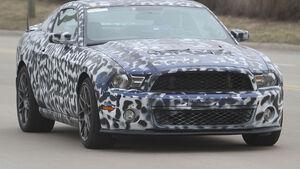 Erlkönig Ford Mustang Shelby GT501