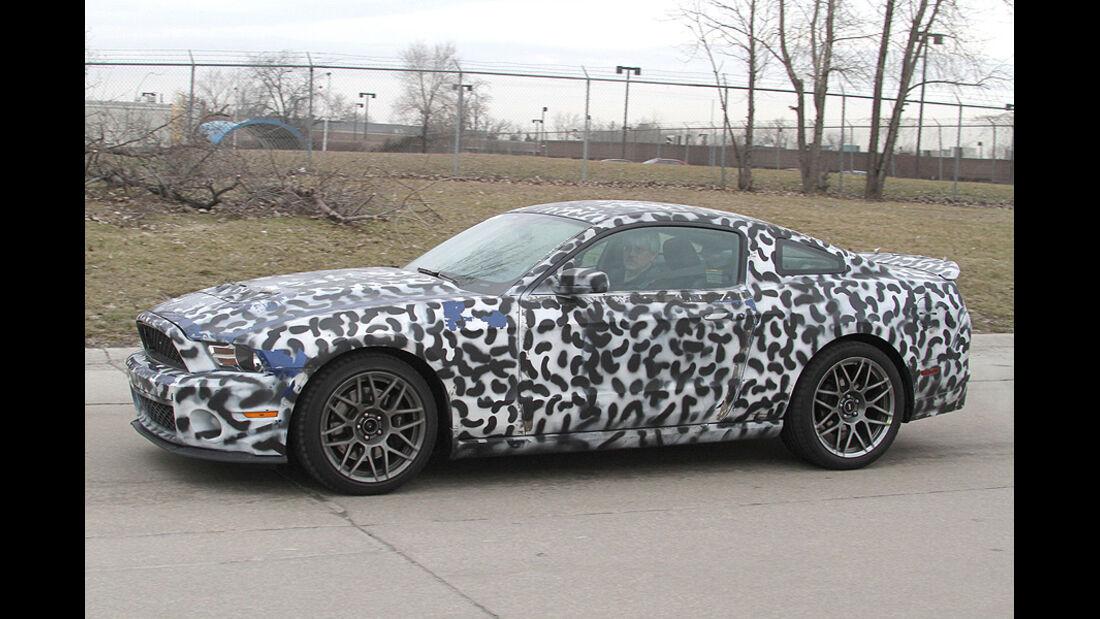 Erlkönig Ford Mustang Shelby GT502