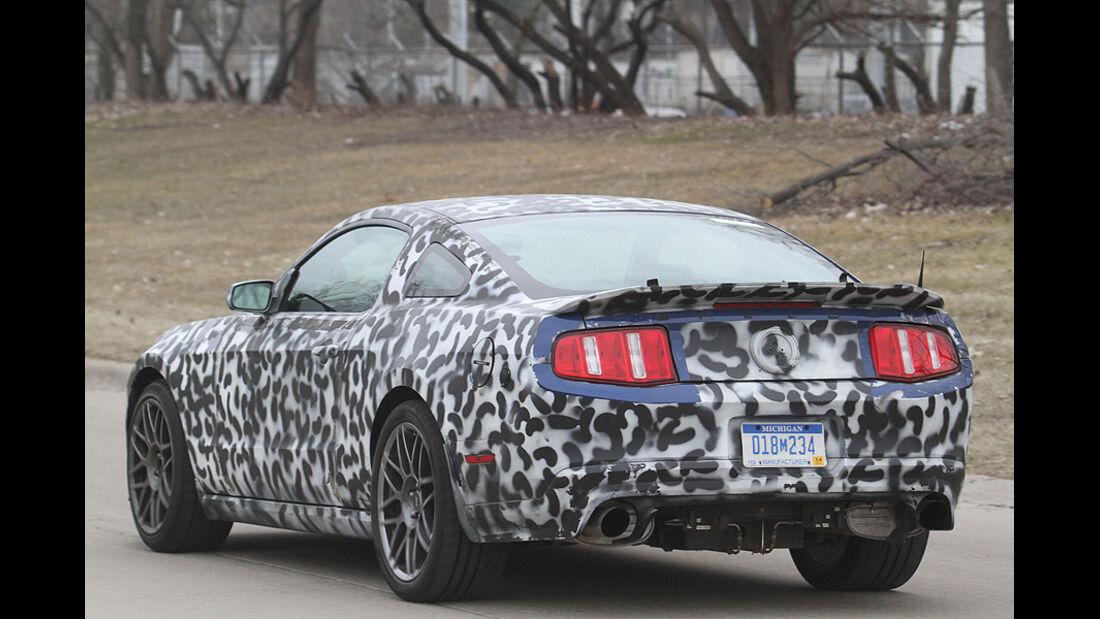Erlkönig Ford Mustang Shelby GT505