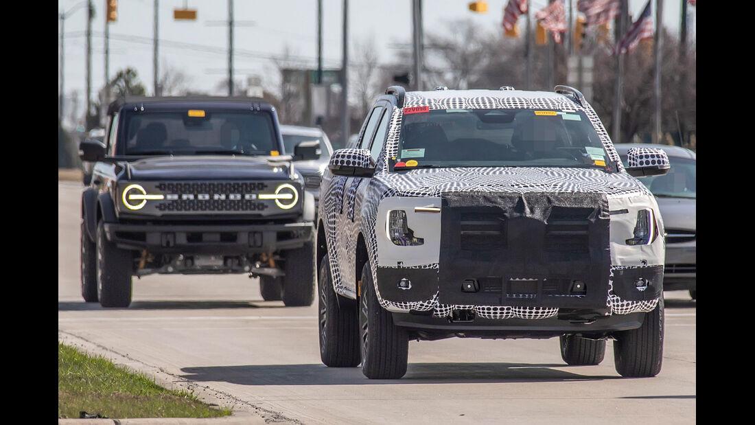 Erlkoenig Ford Ranger BWt