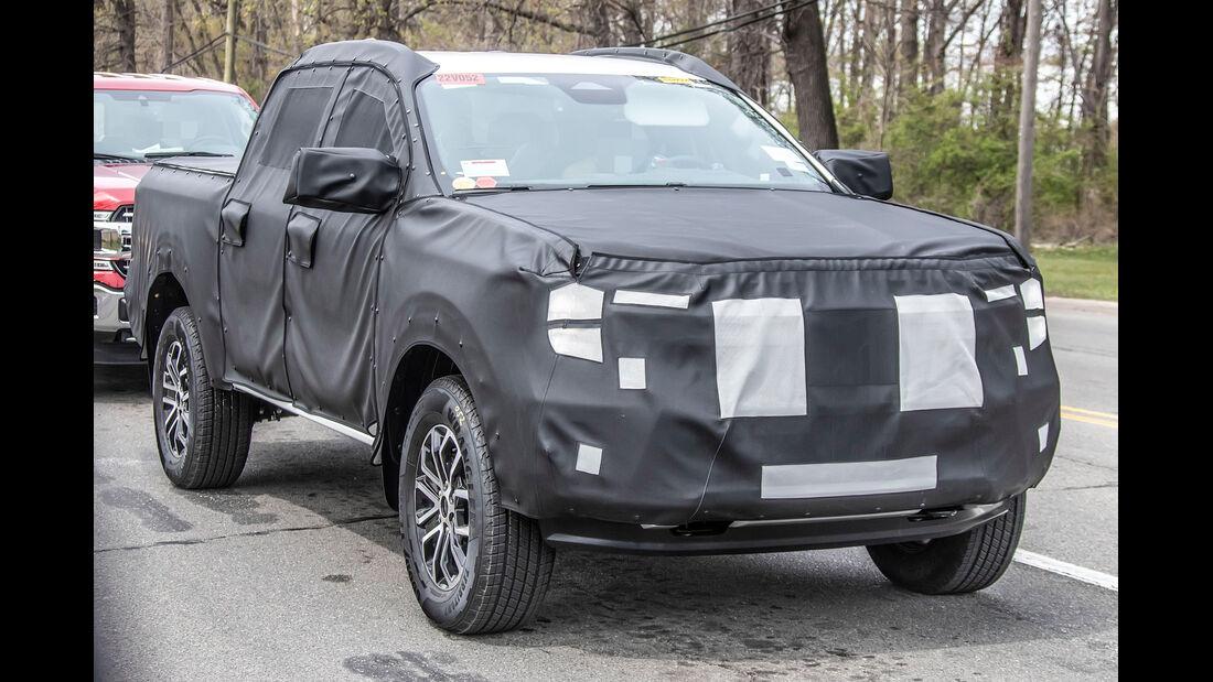 Erlkoenig Ford Ranger Black Tremor