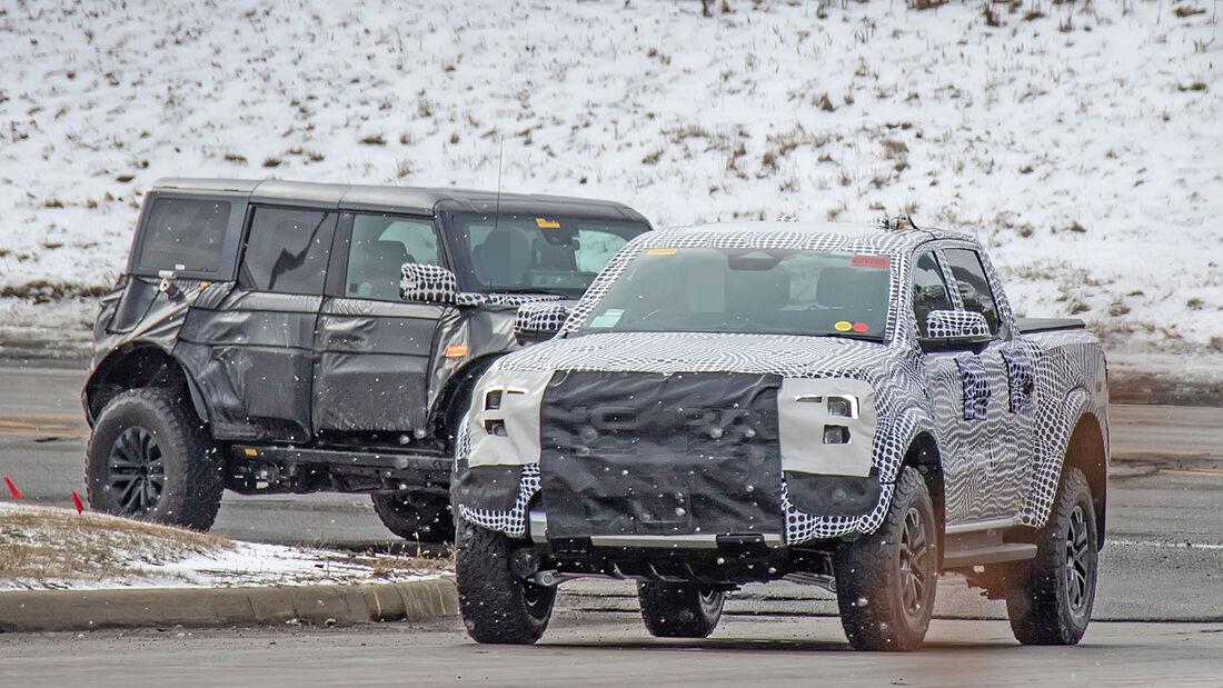 Erlkönig Ford Ranger Raptor
