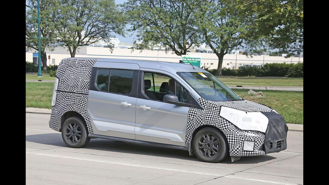 Erlkönig Ford Transit Connect Facelift