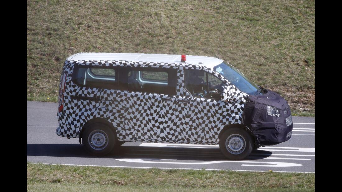 Erlkönig Ford Transit Facelift