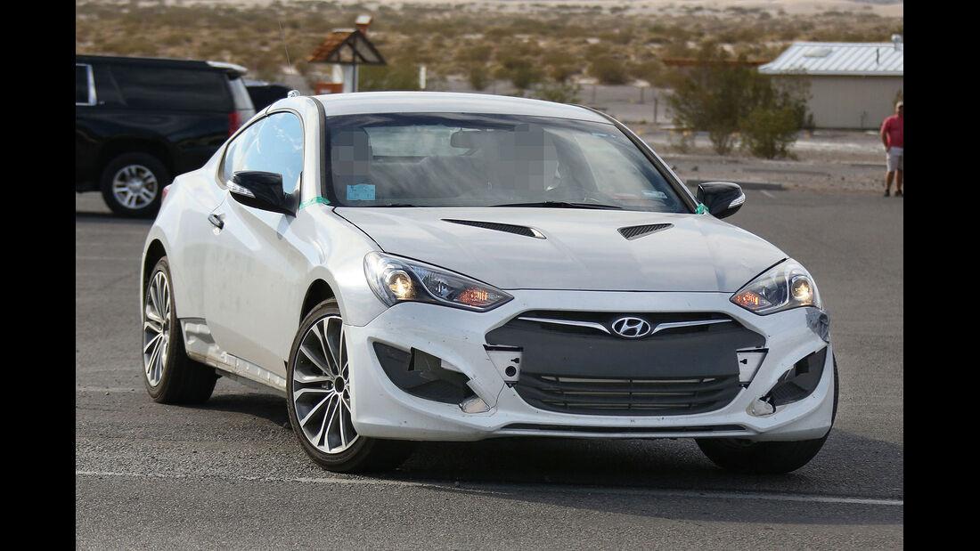 Erlkönig Hyundai Genesis Coupé