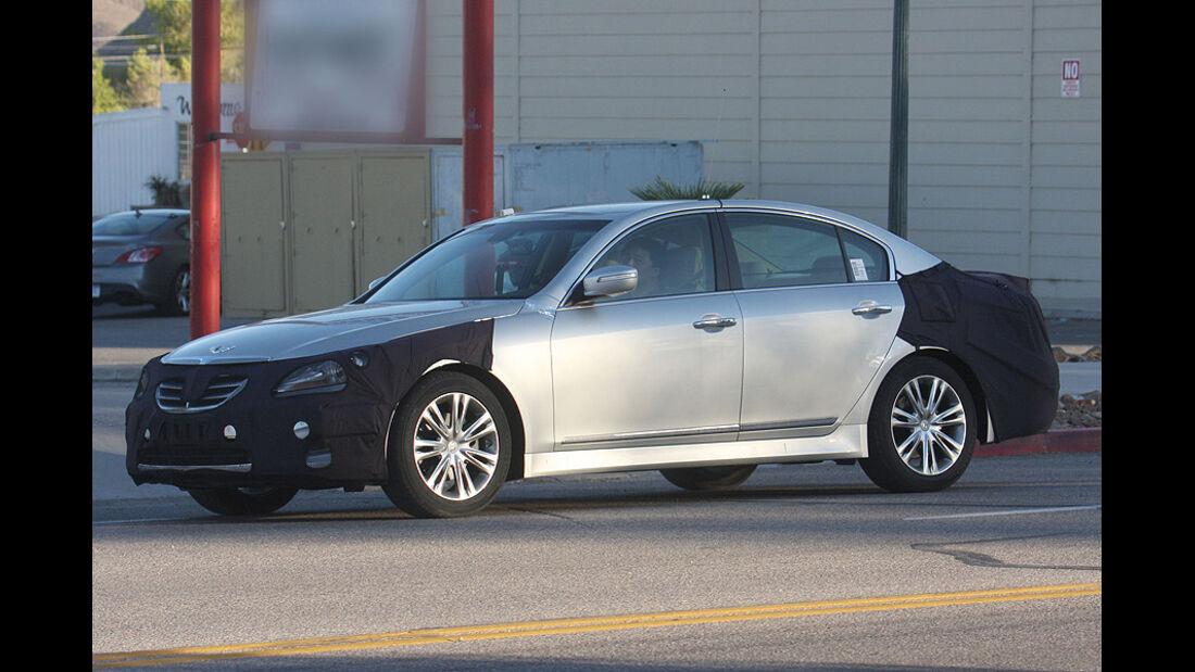 Erlkönig Hyundai Genesis Facelift