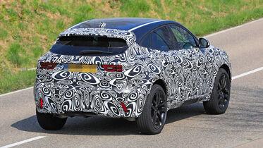 Erlkonig Jaguar E Pace Facelift Modell Kommt 2021 Auto Motor Und Sport