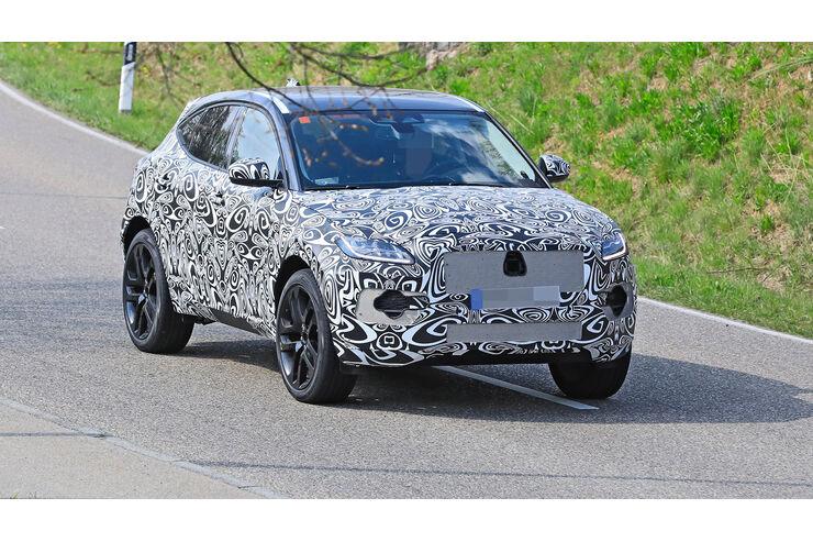 erlkönig jaguar epace faceliftmodell kommt 2021  auto