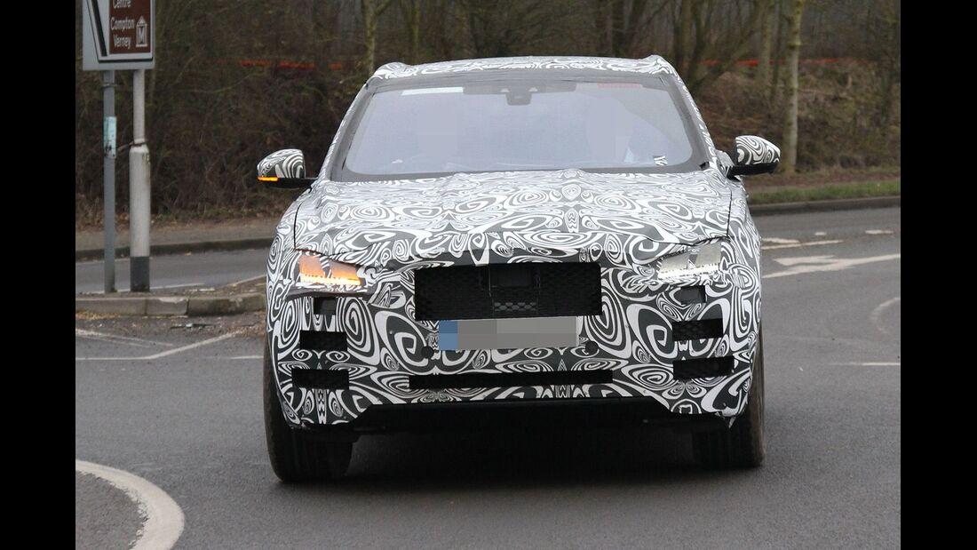 Erlkönig, Jaguar F-Pace