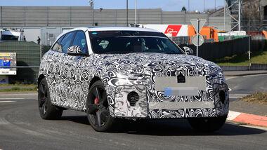 Erlkönig Jaguar F-Pace SVR