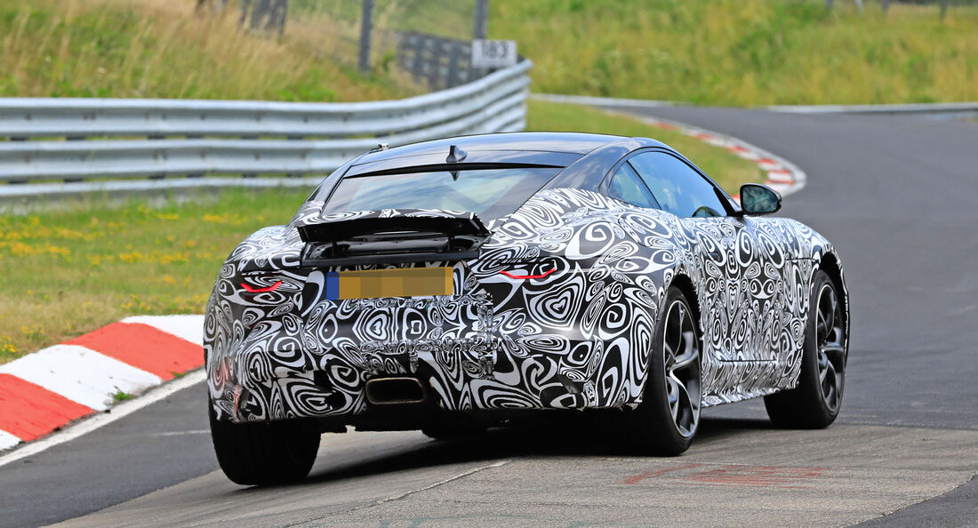 Erlkönig Jaguar F-Type