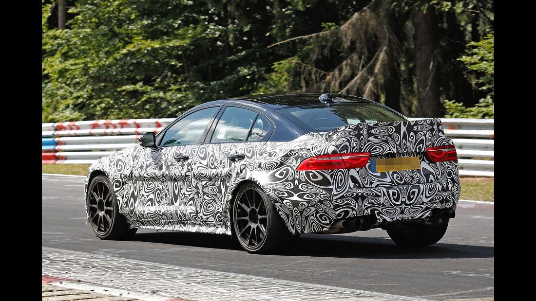 Erlkönig Jaguar XE Project 8