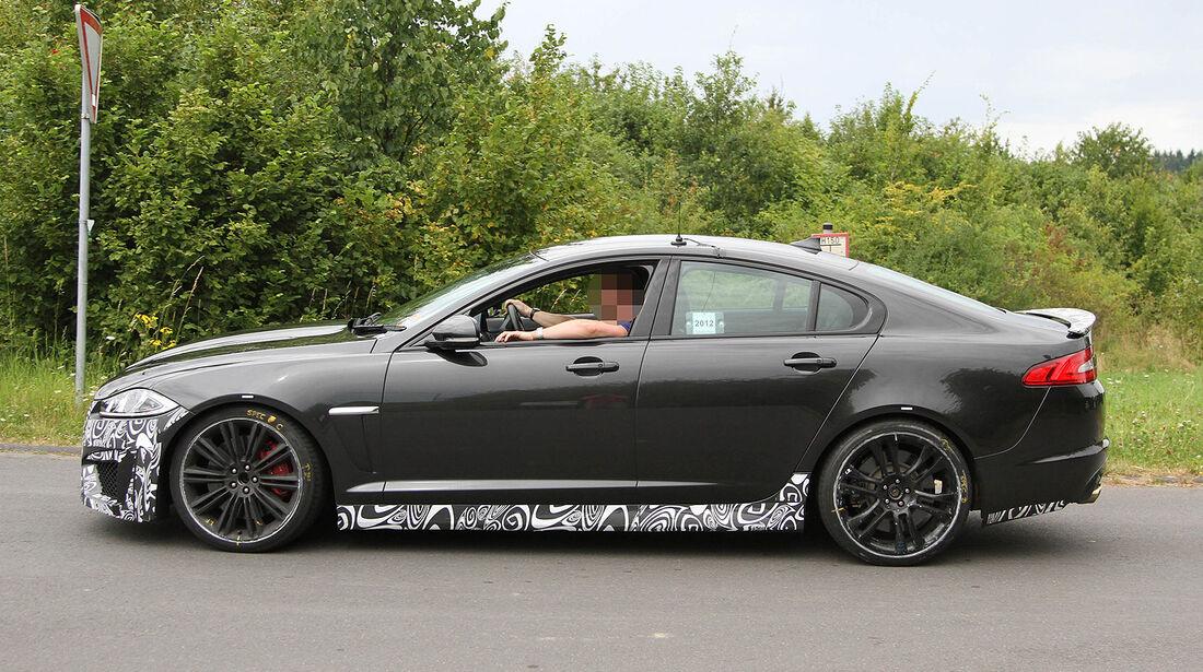 Erlkönig Jaguar XFR-S