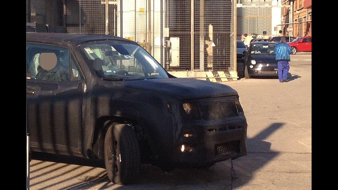 Erlkönig Jeep Jeepster