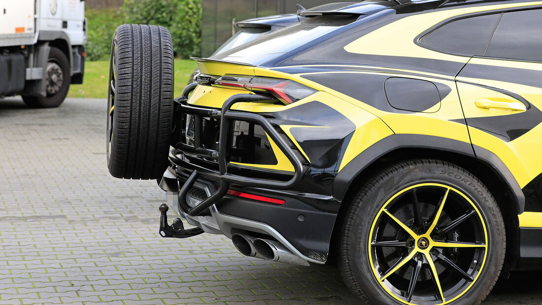 Erlkönig Lamborghini Urus Rescue