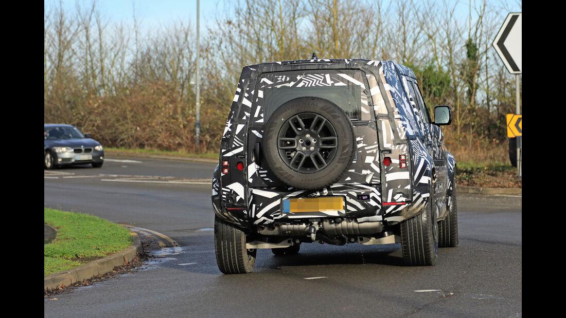 Erlkönig Land Rover Defender 110