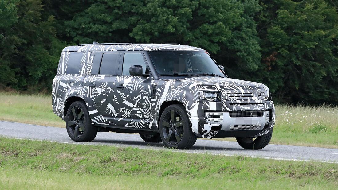 Erlkönig Land Rover Defender 130