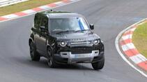 Erlkönig Land Rover Defender V8