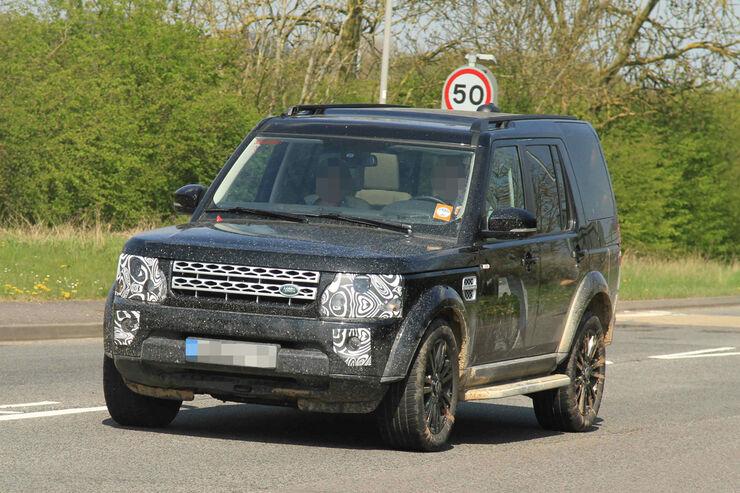 Erlkönig Land Rover Disovery