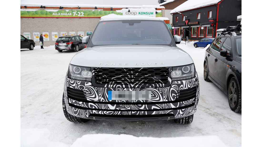 Erlkönig Land Rover Range Rover