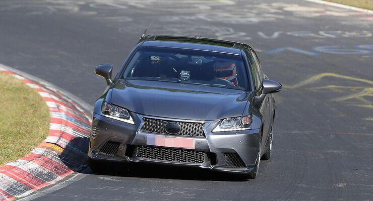 Erlkönig Lexus GS-F