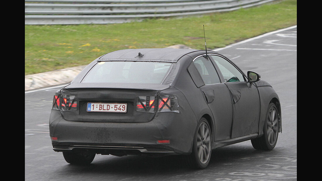 Erlkönig Lexus GS