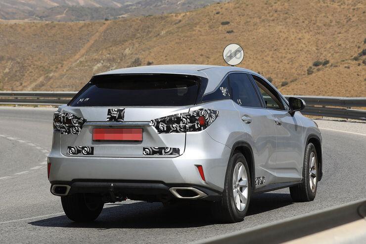 Erlknig Lexus RX 2018 Daten Infos Preise Marktstart