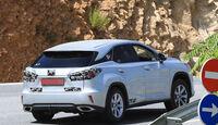 Erlkönig Lexus RX Facelift 2018