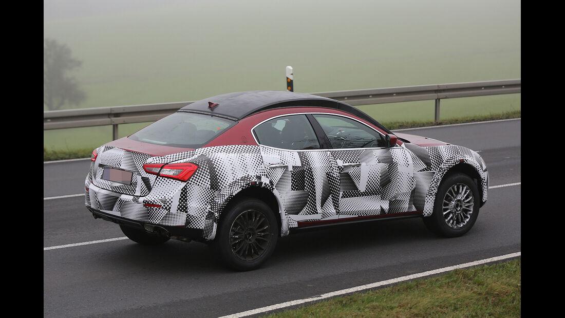 Erlkönig Maserati Levante