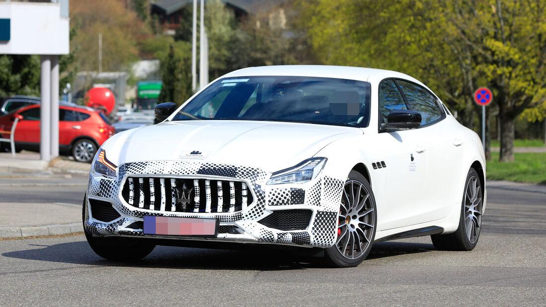 Erlkönig Maserati Quattroporte Facelift