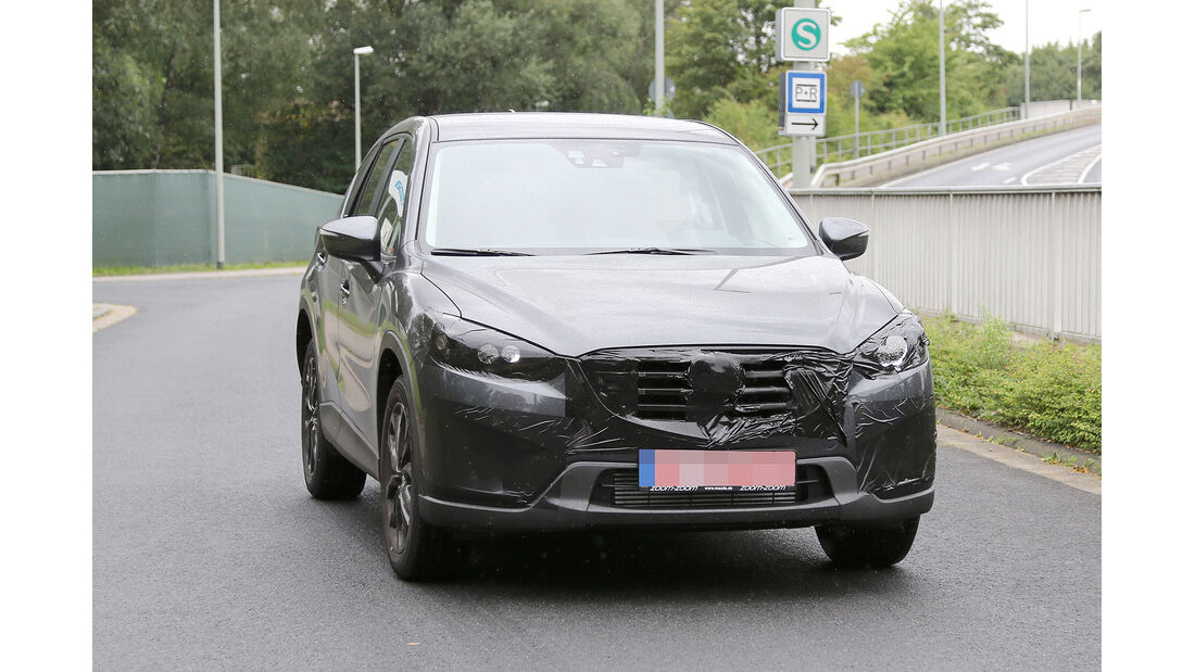 Erlkönig Mazda CX5 Facelift