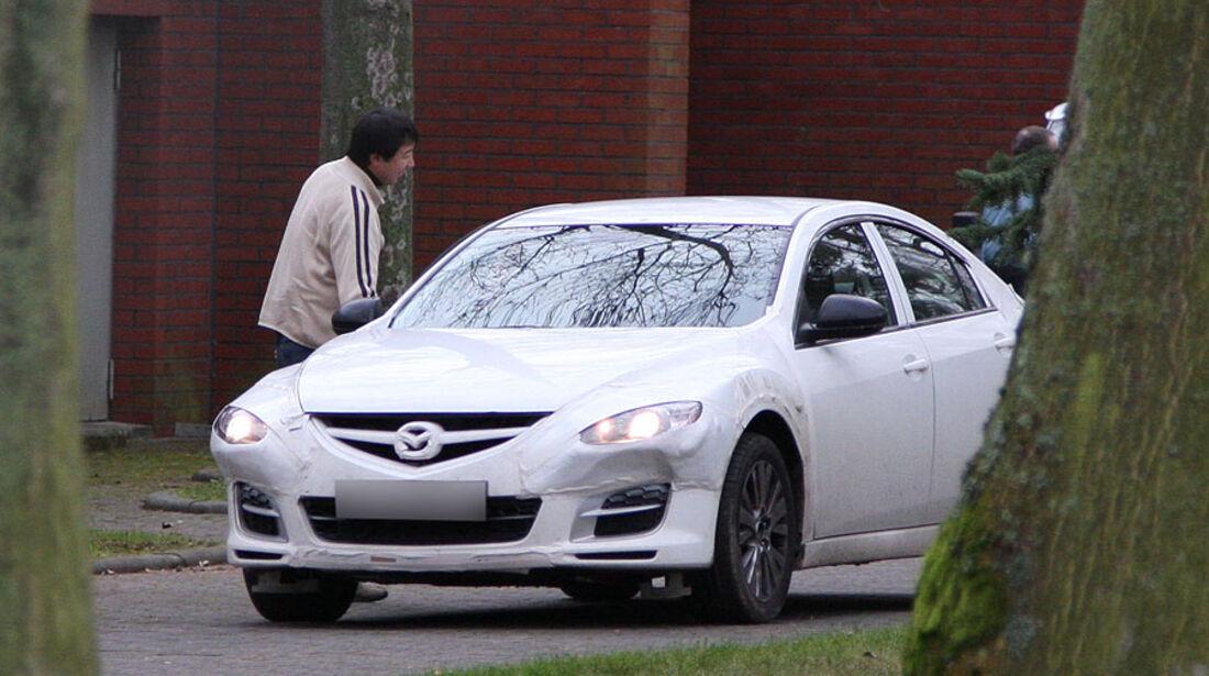Erlkönig Mazda RX9 mule