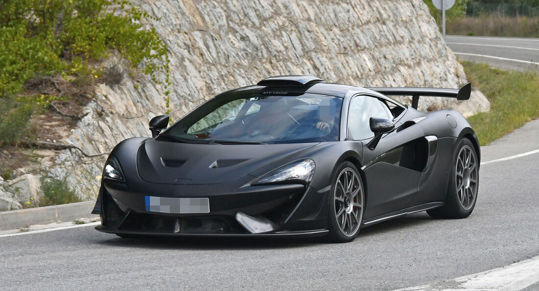 Erlkönig McLaren 620R