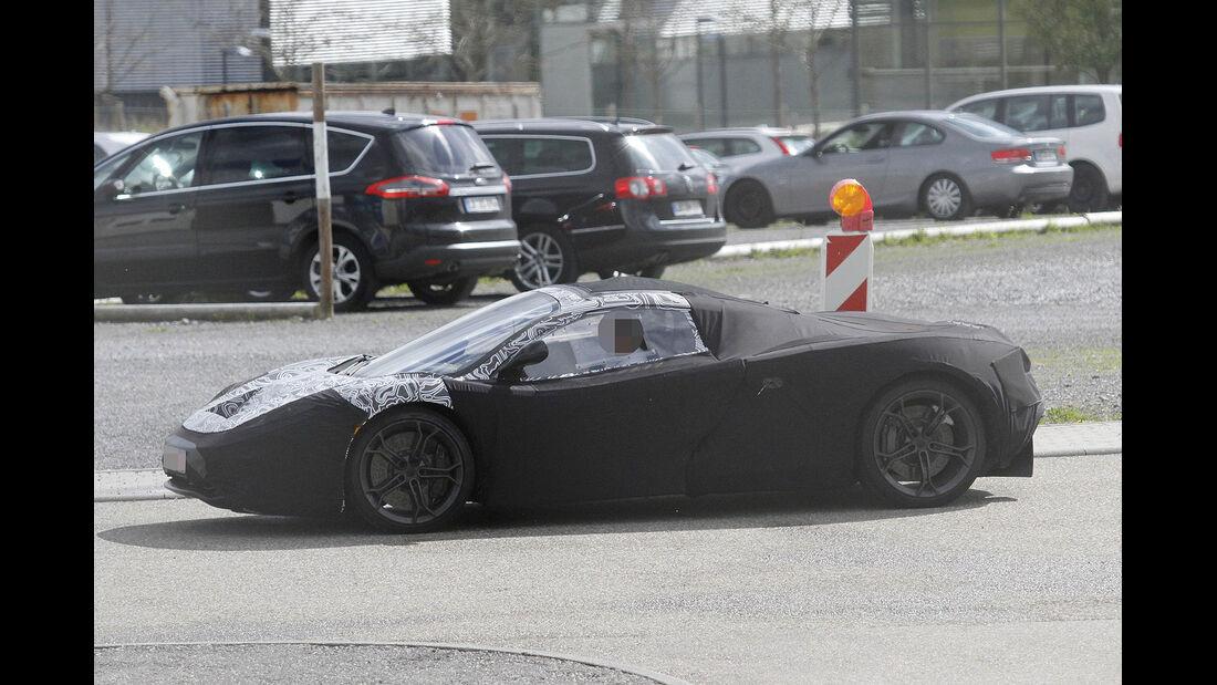 Erlkönig McLaren F1 Nachfolger