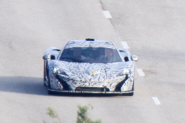 Erlkönig McLaren P1