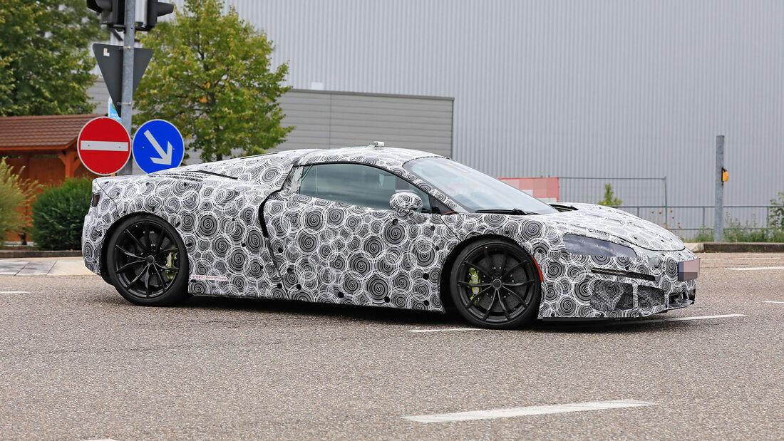 Erlkönig McLaren Sport Series