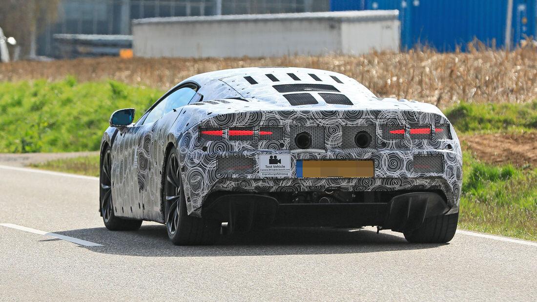 Erlkönig McLaren Sport Series Hybrid