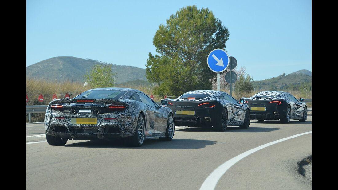 Erlkönig McLaren Sports Series