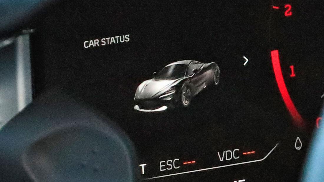 Erlkönig McLaren Sports Series Hybrid