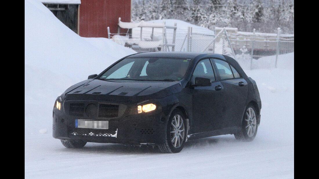 Erlkönig Mercedes A-Klasse