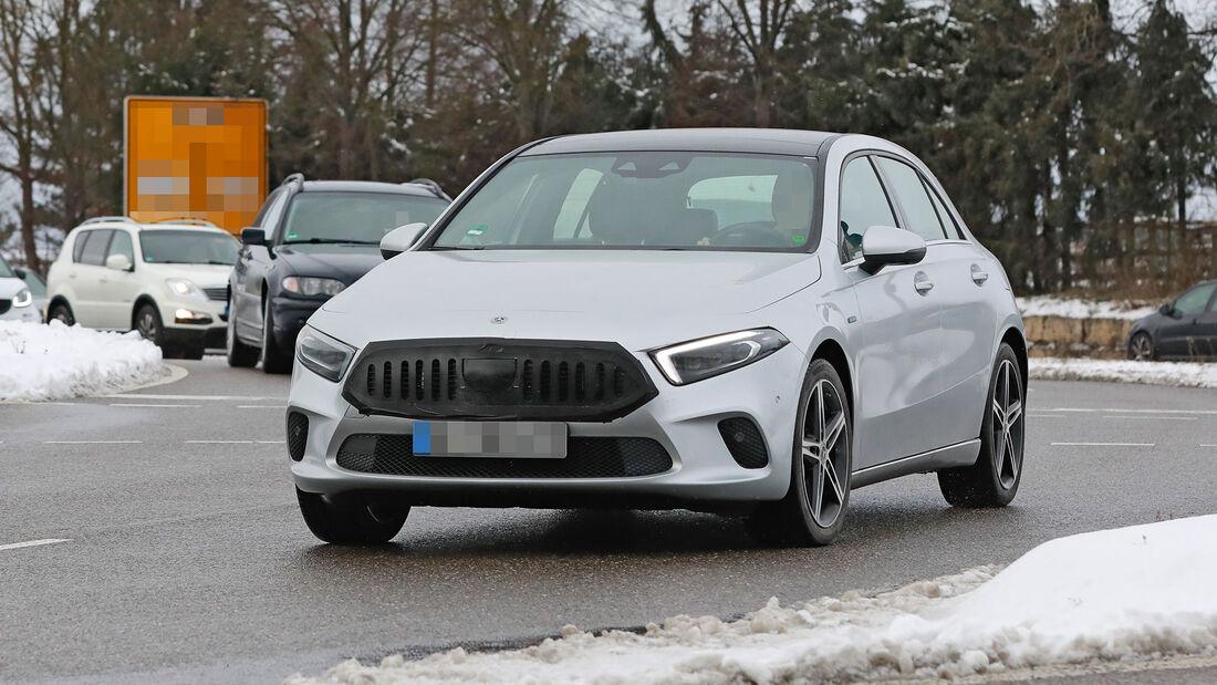 Erlkönig Mercedes A-Klasse Facelift