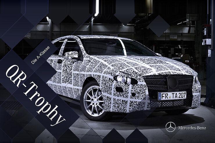 Erlkönig, Mercedes A-Klasse