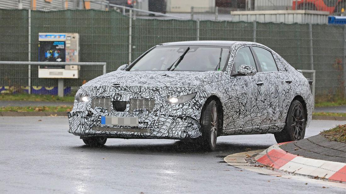 Erlkönig Mercedes-AMG C43